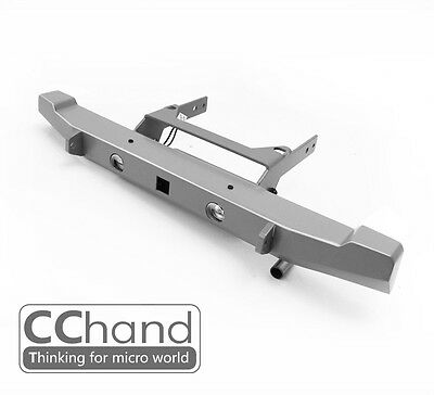 [CChand] 1/10 AXIAL SCX10 cherokee Rear basic bumper silver [Include LED 5m LED]