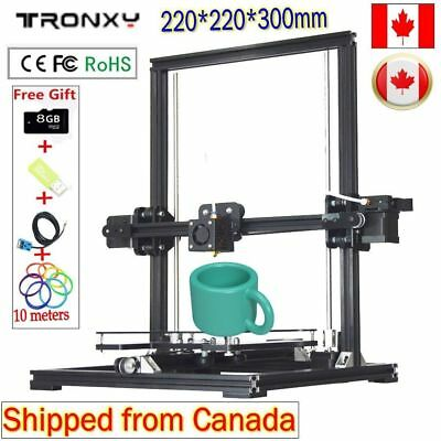 Auto Leveling 220*220*300mm X3A DIY 3D Printer KIT Metal LCD i3 Updated Extruder
