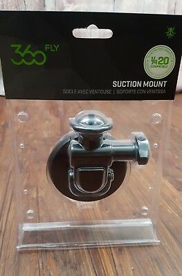 360fly Suction Mount - Limitless Camera Positioning, 360 Fly  E1