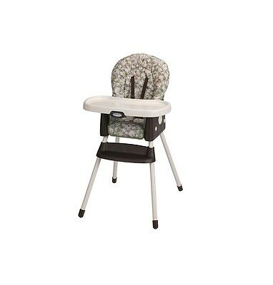 Graco SimpleSwitch 2-in-1 High Chair & Booster Seat - ZUBA - NEW FACTORY SEALED