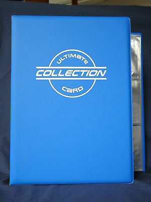 Toploader Binder with 30 toploader pages BLUE Garbage Pail Kids  Wacky Packages