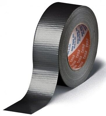Black Roll Duct Gaffer Tape 44mm* 50 metre heavy duty electrical wire wide long