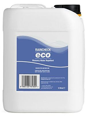 Brick Sealer 5L   Raincheck ECO - Breathable, Colourless Waterproofer For Brick,
