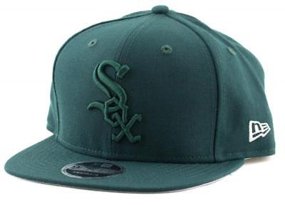 Chicago White Sox New Era MLB Team 9Fifty Hat Genuine Baseball Cap In Green