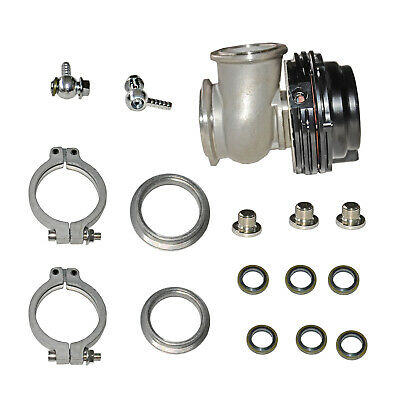 Turbos, Nitrous, Superchargers FOR TIAL MVS 38mm BLACK WITH V-BAND & FLANGES MV-SBLACK 38mm WASTEGATE Parts & Accessories