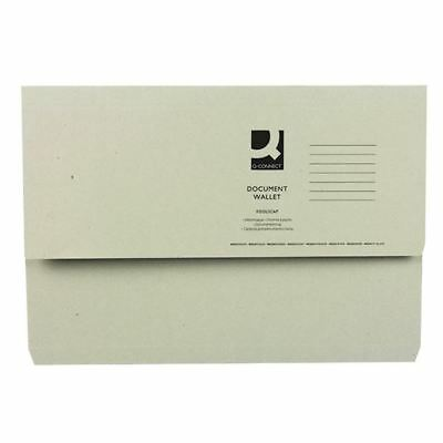 Buff Document Wallet (Pack of 50) 45912PLAI [WX23010A]