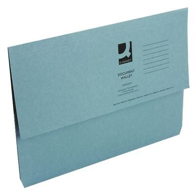 White Box Blue Document Wallet (Pack of 50) 45913EAST  [WX23011A]