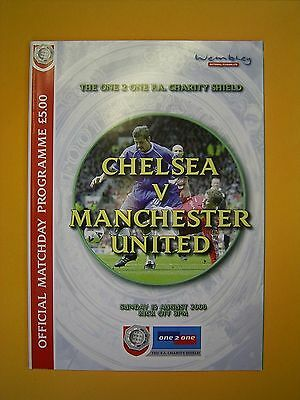 FA Charity Shield - Chelsea v Manchester United - 13th August 2000