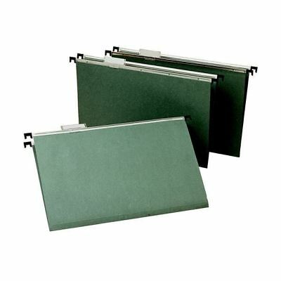 Green Foolscap Suspension Files (Pack of 50) WX21001 [WX21001]