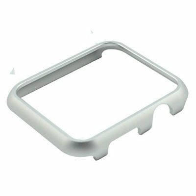 Apple Watch Case Aluminum 42mm iWatch Extra Safe Cover Series 1 Series 2-Silver