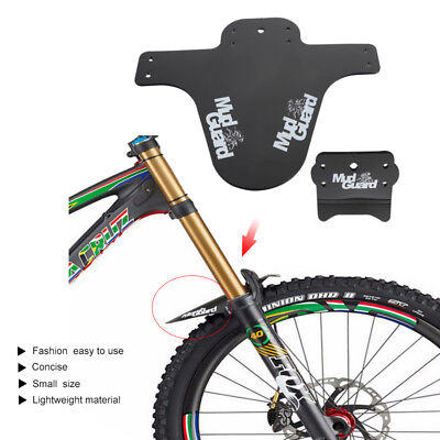 1Pair Bicycle Lightest MTB Mud Guards Tire Tyre Mudguard For Bike Fenders