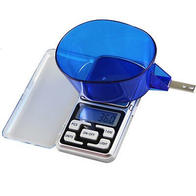 Small Mini Pocket Digital Electronic Weighing Weight Scales 0.1G/500G 200g/0.01g