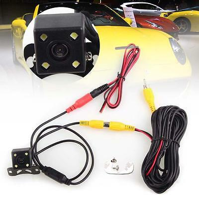 CCD Waterproof LED Night Vision Cars Rear view Backup Reverse Parking Camera AC