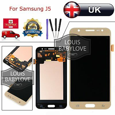 For Samsung Galaxy J5 SM-J500FN Touch Screen Digitizer + LCD Display Gold UK