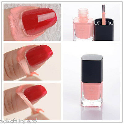 BORN PRETTY Pink 6ml Nail Art Liquid Tape & Peel Off Base Coat  Latex