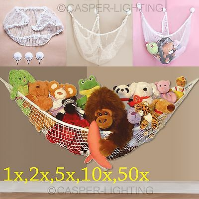 Large Toy Hammock Soft Tidy Mesh Baby Childs Bedroom Teddy Storage Nursery Net