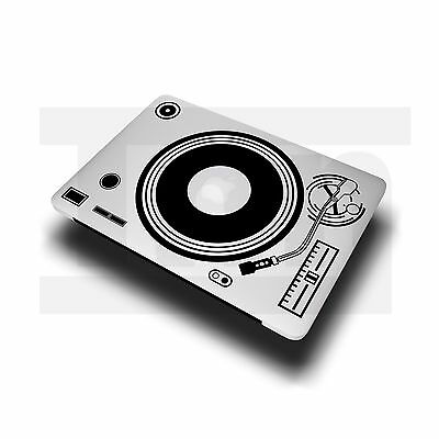 "MacBook Sticker Decal Vinyl DJ Record Player Turn Table Pro Air 11"" 13"" 15"" 17"""