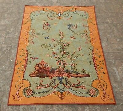 Vintage French Beautiful Scene Tapestry 146X105cm (A1122)