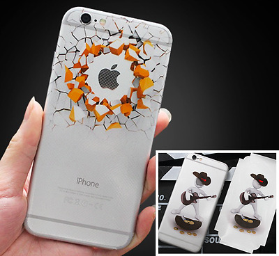 3D Vinyl Sticker Decal For iPhone 7 6 6S Skin Stickers Film Fast Post