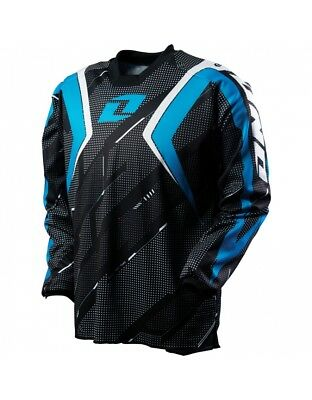 Maillot one carbon jersey trace bleu taille XL - Dirt bike / Pit bike / Mini Mot