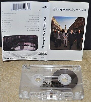 BOYZONE          - BY REQUEST -              Cassette Tape