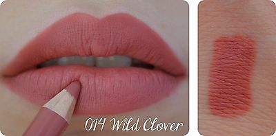 RIMMEL London 1000 KISSES LIP LINEAR Pencil Lasting WILD CLOVER 014 Intense