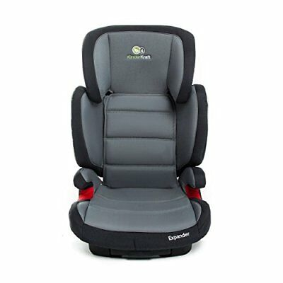 Kinderkraft Expander Booster Isofix Car Seat  Group 2 3, 15-36 kg, Grey