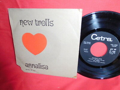 NEW TROLLS Annalisa 7' + PS 1970 ITALY MINT- Rare It BEAT PSYCH PROG