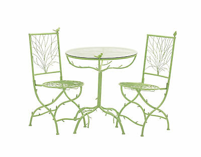 Regal and Classic Style The Metal Bistro Set Of 3 Home Accent Decor 27145