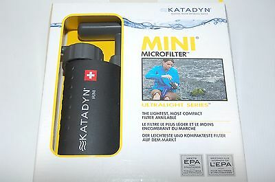 Katadyn Mini Microfilter Wasserfilter Outdoor Camping Survival Bushcraft Prepper