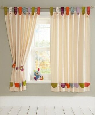 SALE BNWT MAMAS AND PAPAS TIMBUKTALES UNISEX CURTAINS SIZE 132 x 160 CM UNISEX