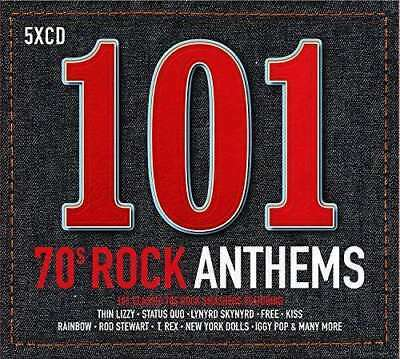 Various Artists - 101 70s Rock Anthems NEW CD