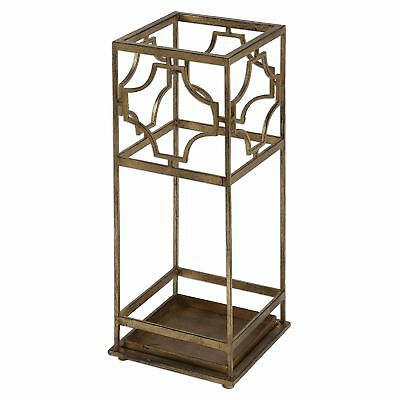 Uttermost Genell Gold Iron Umbrella Stand 24553
