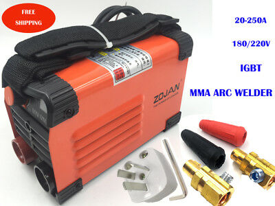 New MMA IGBT Handheld Welder 220V 20-250A Inverter ARC TIG Welding Machine Tool