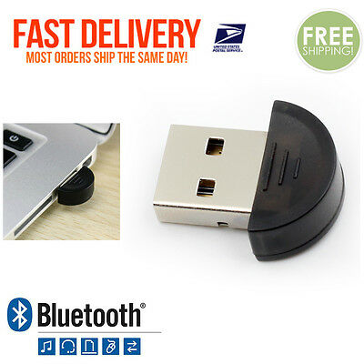 New Mini USB Bluetooth Adapter Dongle PC LAPTOP WIN XP 7 8 Receiver Transmitter