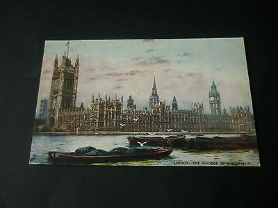 THE HOUSES OF PARLIAMENT,Tuck Oilette 7219, London