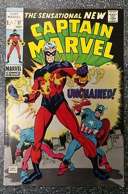 Captain Marvel #17 (Vol.1) VF- NEW COSTUME