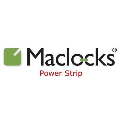 Maclocks UK Power Strip/Surge Protector with 6 Universal Outlets