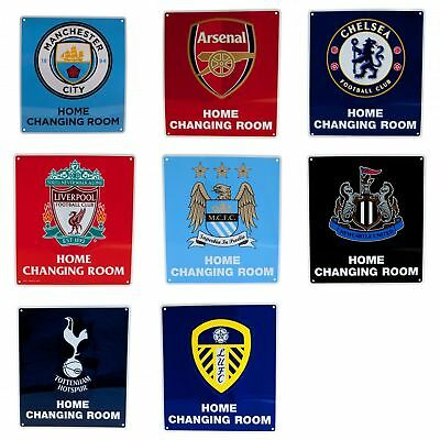 Football Club Team Home Changing Room Wall Sign Football Fan Official Sports
