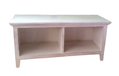 Cubby Hallway Storage Bench 2 Compartment Boot