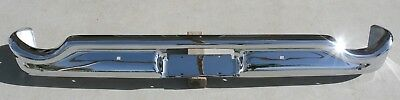 X Ford Galaxie Fairlane New Triple Plated Chrome Rear Back Bumper 1959 59 Oem