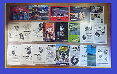 22 - CLASSIC MICHELIN ADVERTS - 1950 to 1984