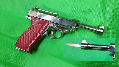 P38 Torch Lighter prop costume cosplay toy gun walther luger wwii reenactment