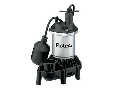Flotec Submersible Thermoplastic Sump Pump 1/4 HP #FPZS25T