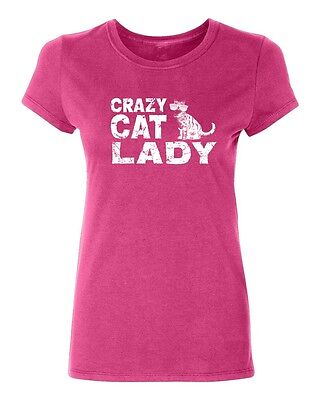 Crazy Cat Lady Women's T-shirt Casual tee