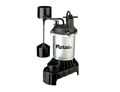 Flotec Submersible Cast Iron and Zinc Sump Pump 1/2 HP #FPCI5050