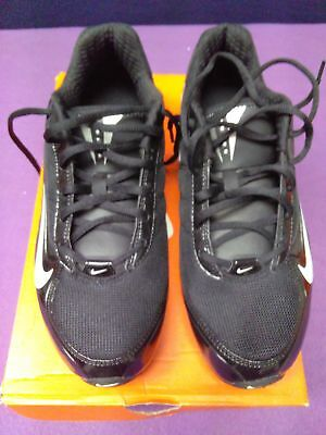 NEW Black Nike Lacrosse Women's Air Team Destroyer 3 Style 415182 010 Size 10