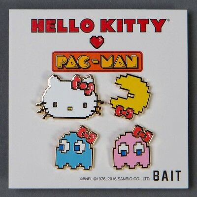 BAIT x Sanrio x Pac-Man Hello Kitty Pac-Man Ghosts 4 Pins Set multi