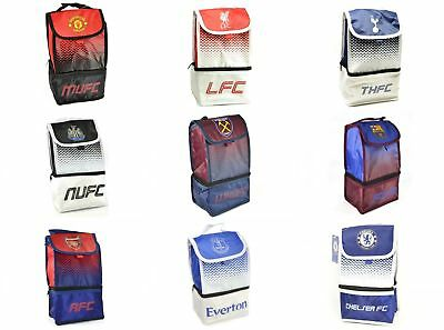 828be528e Football Team Club Deluxe Fade Design Insulated Lunch Box Bag Boys Kids  Official