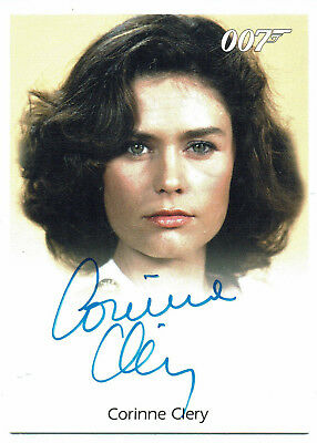 James Bond50th Anniversary Series 1Autograph Corinne Clery as Corinne Dufour